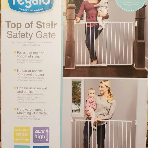 gate Top of stair safety gate Regalo top