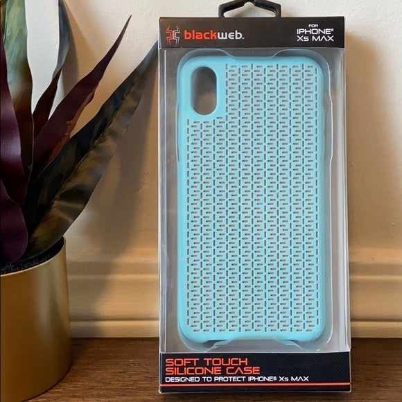 Blue Soft Touch IPhone XS Max Case