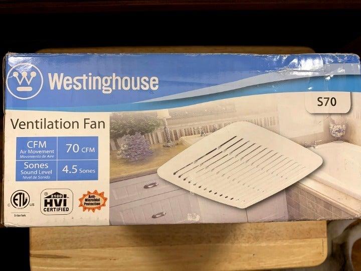 New Westinghouse Ventilation Fan S70