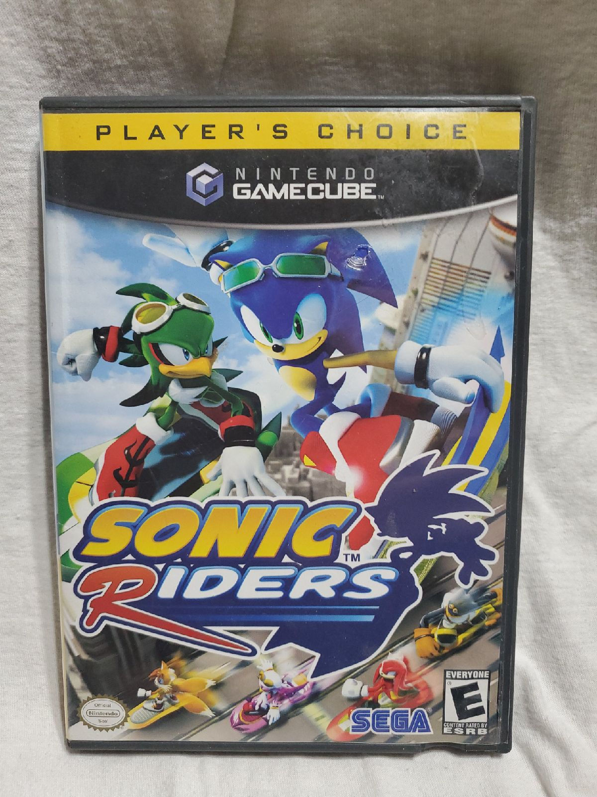 GameCube Sonic Riders Players Choice