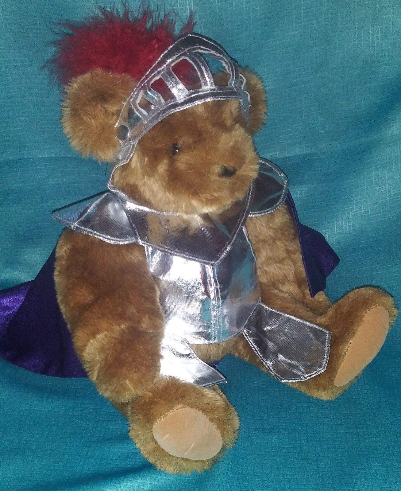 Handmade Vermont Teddy Bear Knight