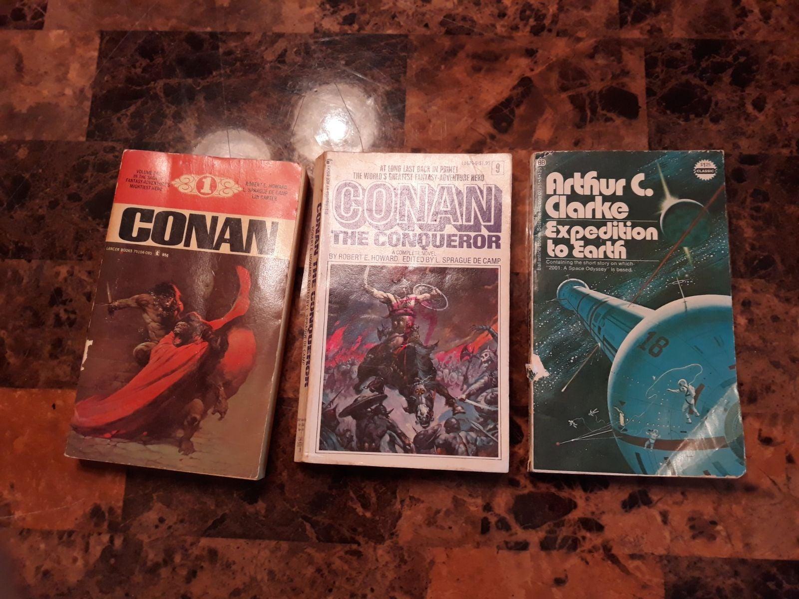 Science fiction paperbacks