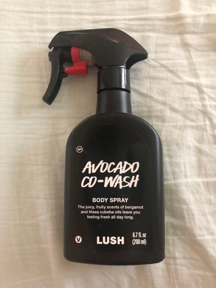 Lush Avocado Co-wash Body Spray