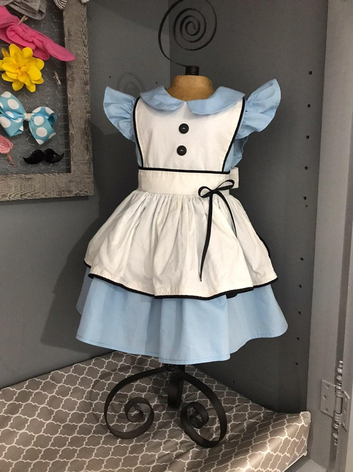 "Custom made Alice in ""One""derland Dress"