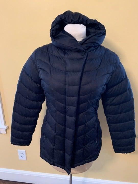 Patagonia Hooded Down Jacket Black Coat