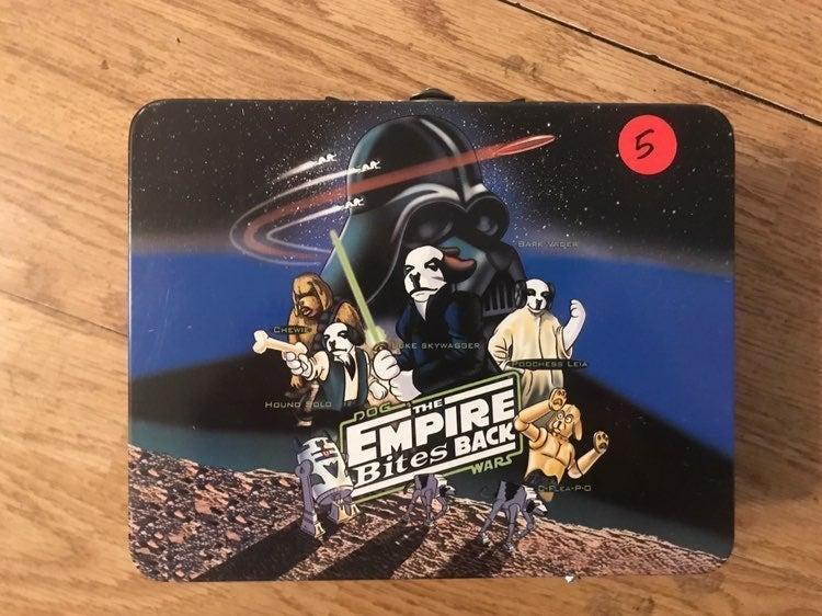 The Empire Bites Back Parody Lunch Box