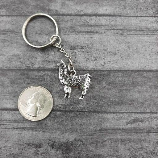 Cute Alpaca Llama Keychain
