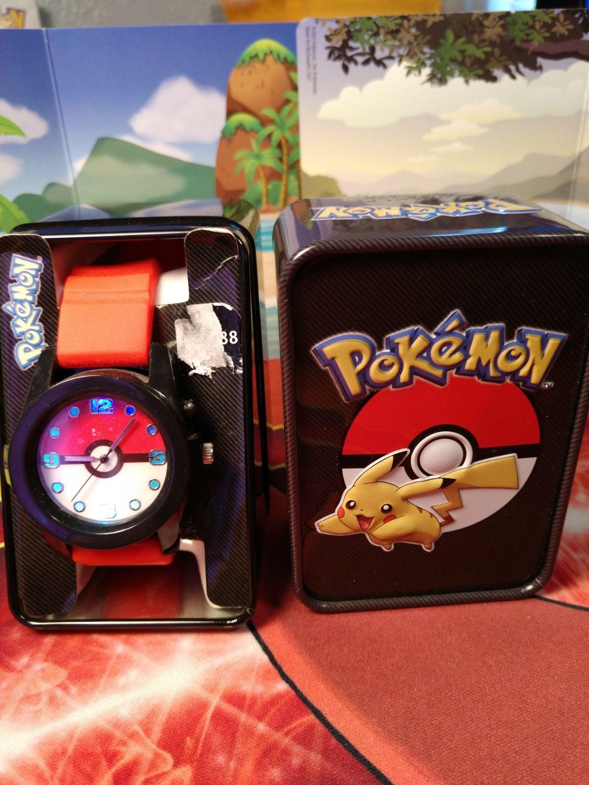 Pokémon Analog Wrist Watch With Lights