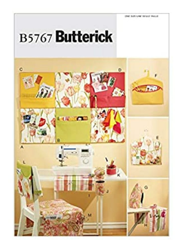 BUTTERICK PATTERNS B5767 Sewing Room Org