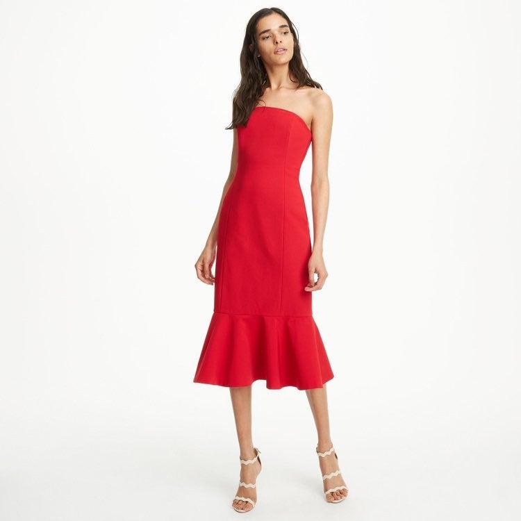Red club monaco dress