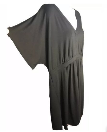NWT J.Jill Wearever black V-neck dress