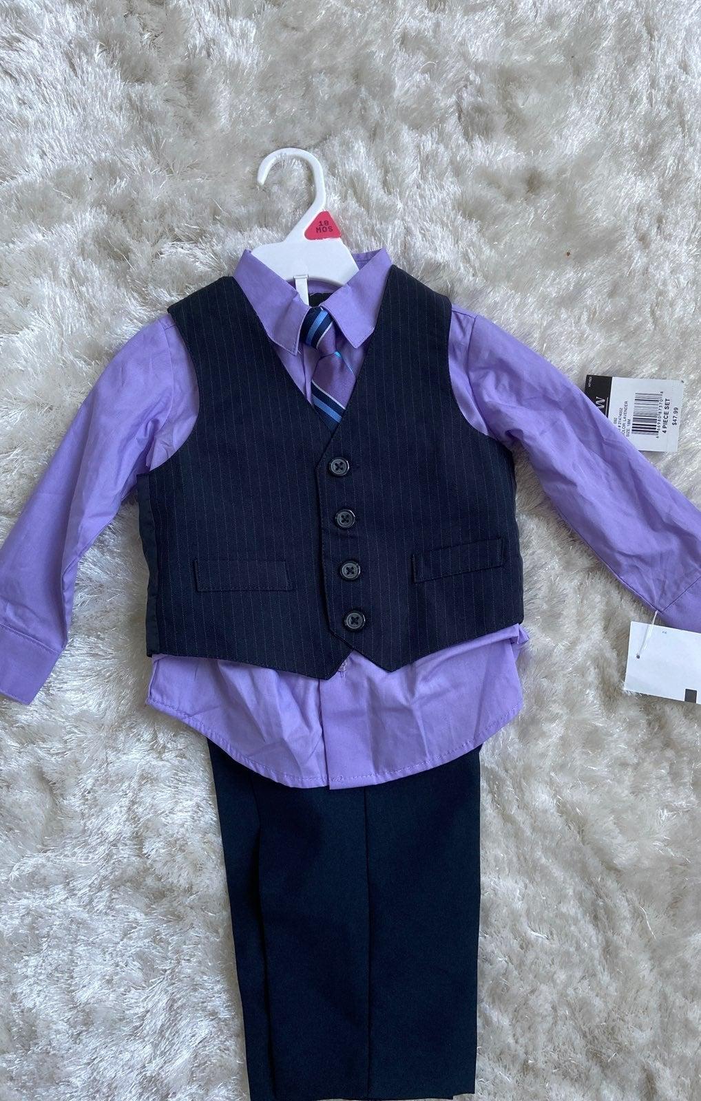 Baby Boy 4 Piece Suit