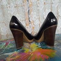de8f77a6a62 BCBG Maxazria leather Heels Size 9