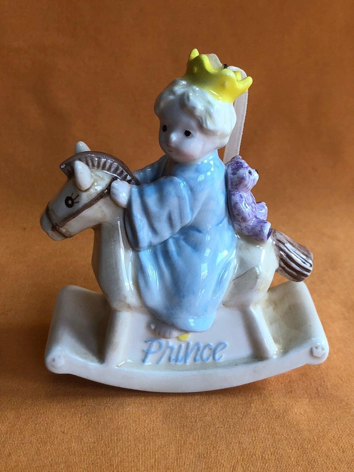 """Mud Pie """"Prince"""" Christmas Ornament"""
