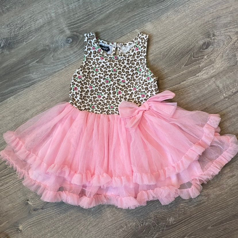 Mud Pie tutu leopard dress
