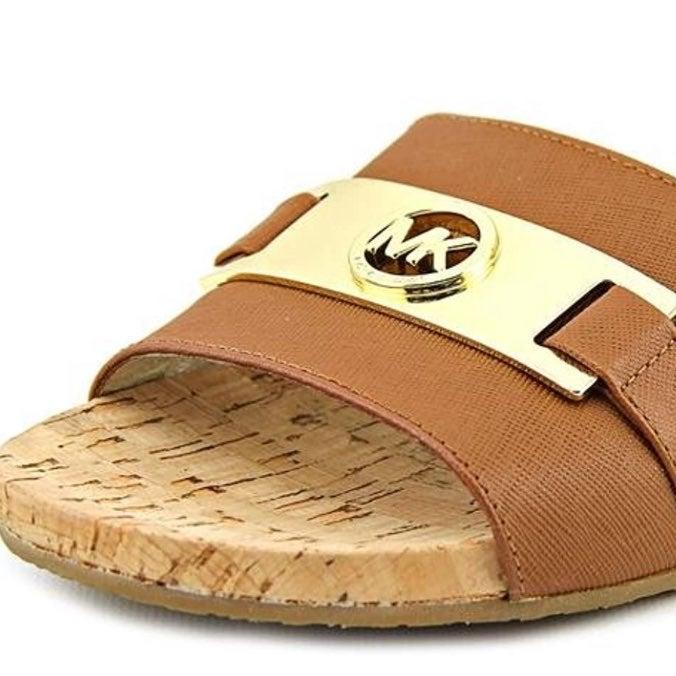 Michael Kors Cork Slide Sandals