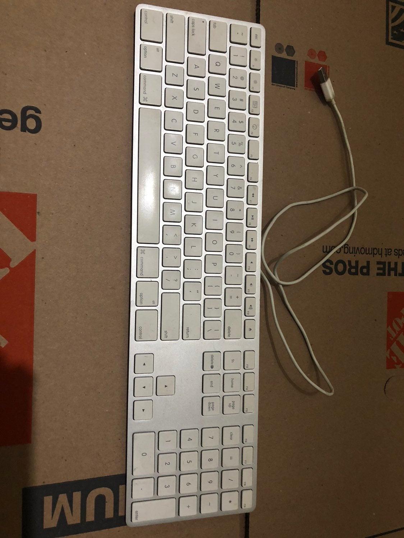 Keyboard apple