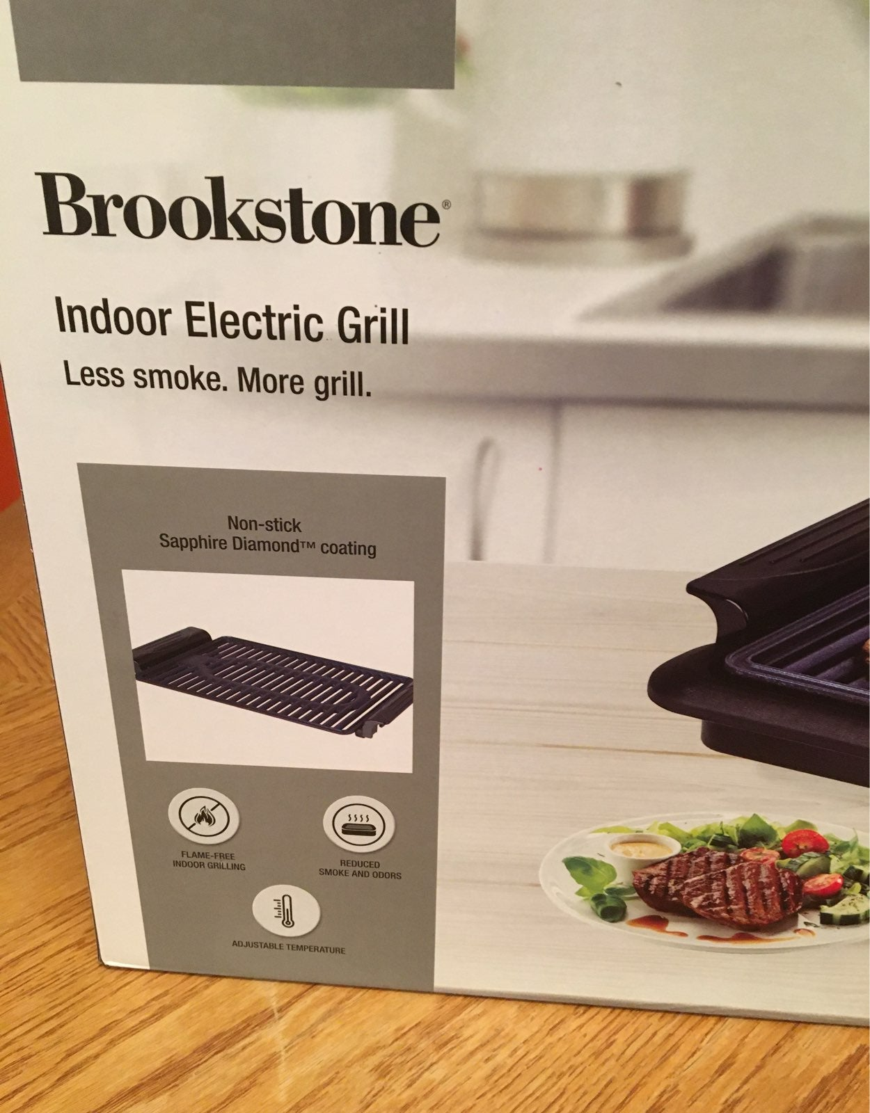 Brookstone indoor electric grill