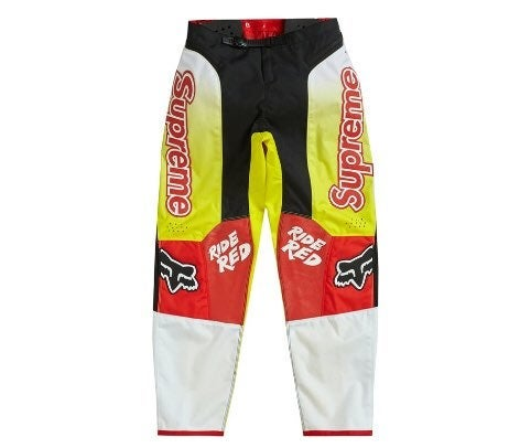 Supreme Honda Fox Moto Pant Red (small)