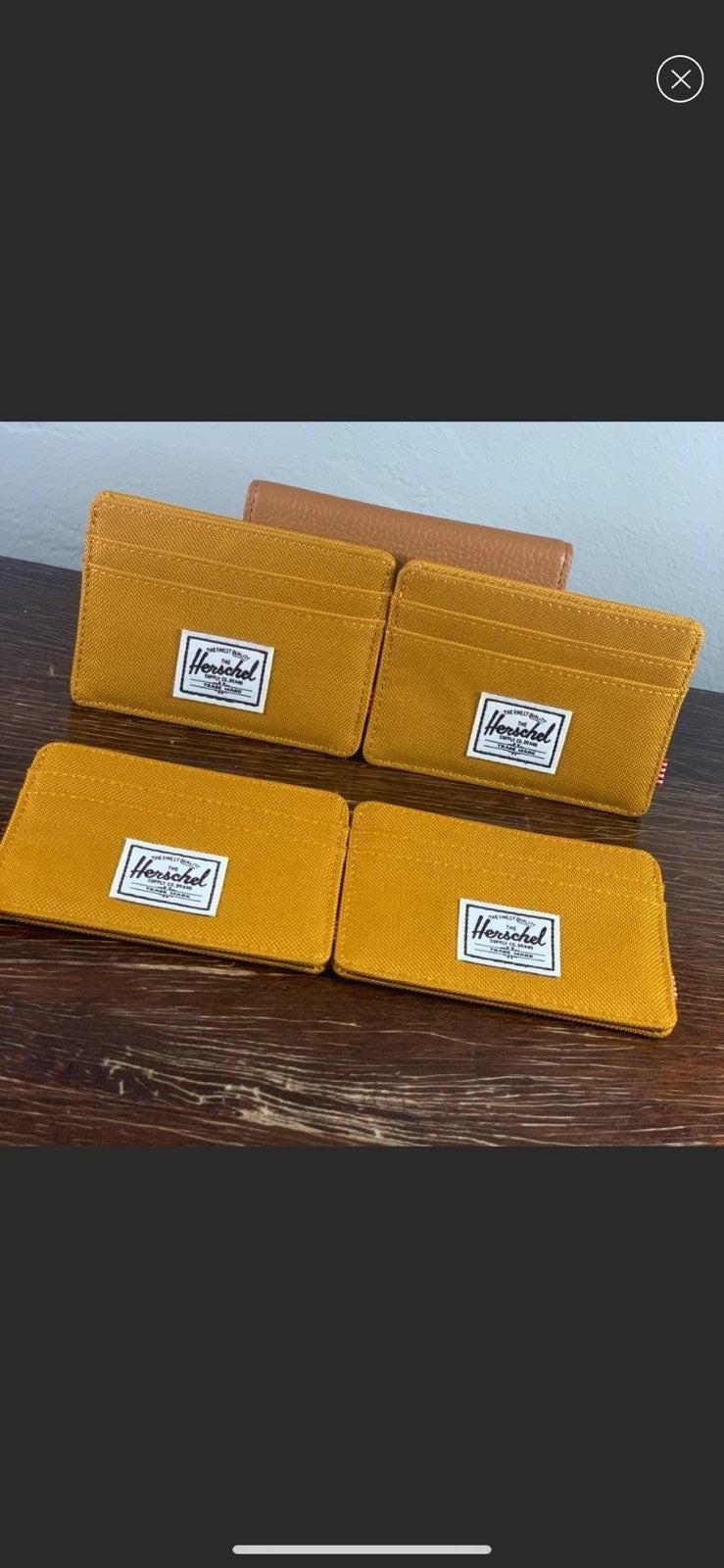 herschel 4 pack wallet