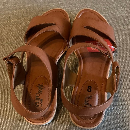 Sofft Leather Comfort Sandal Sz 8.0