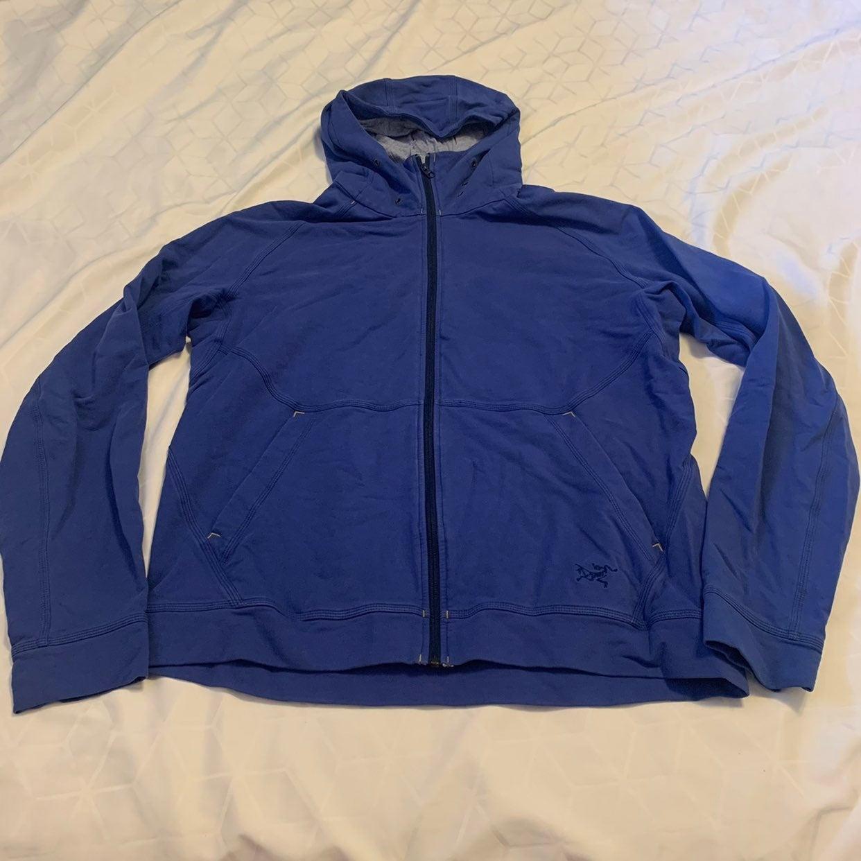 Men full zip arcteryx sweat shirt