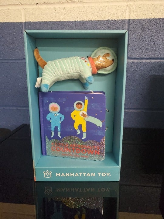 Manhattan Toy Astronaut Book and Toy A14