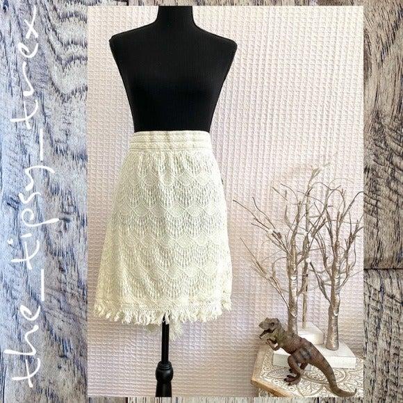 Bongo Crochet Mini Skirt NWT 3X