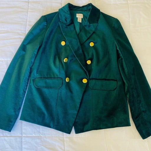 Chico's green blazer