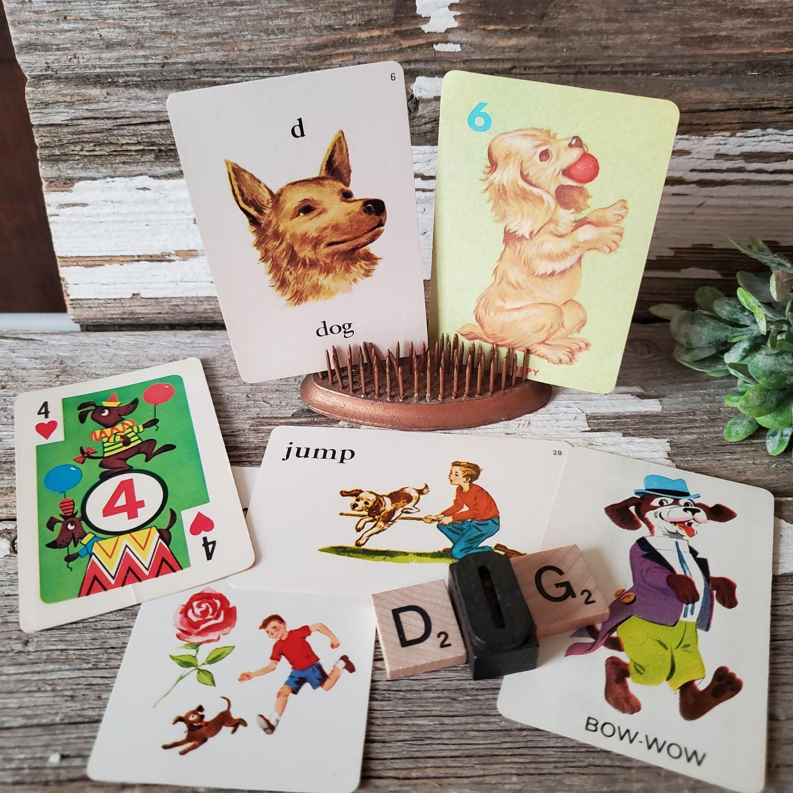 Vintage Ephemera/Game Cards