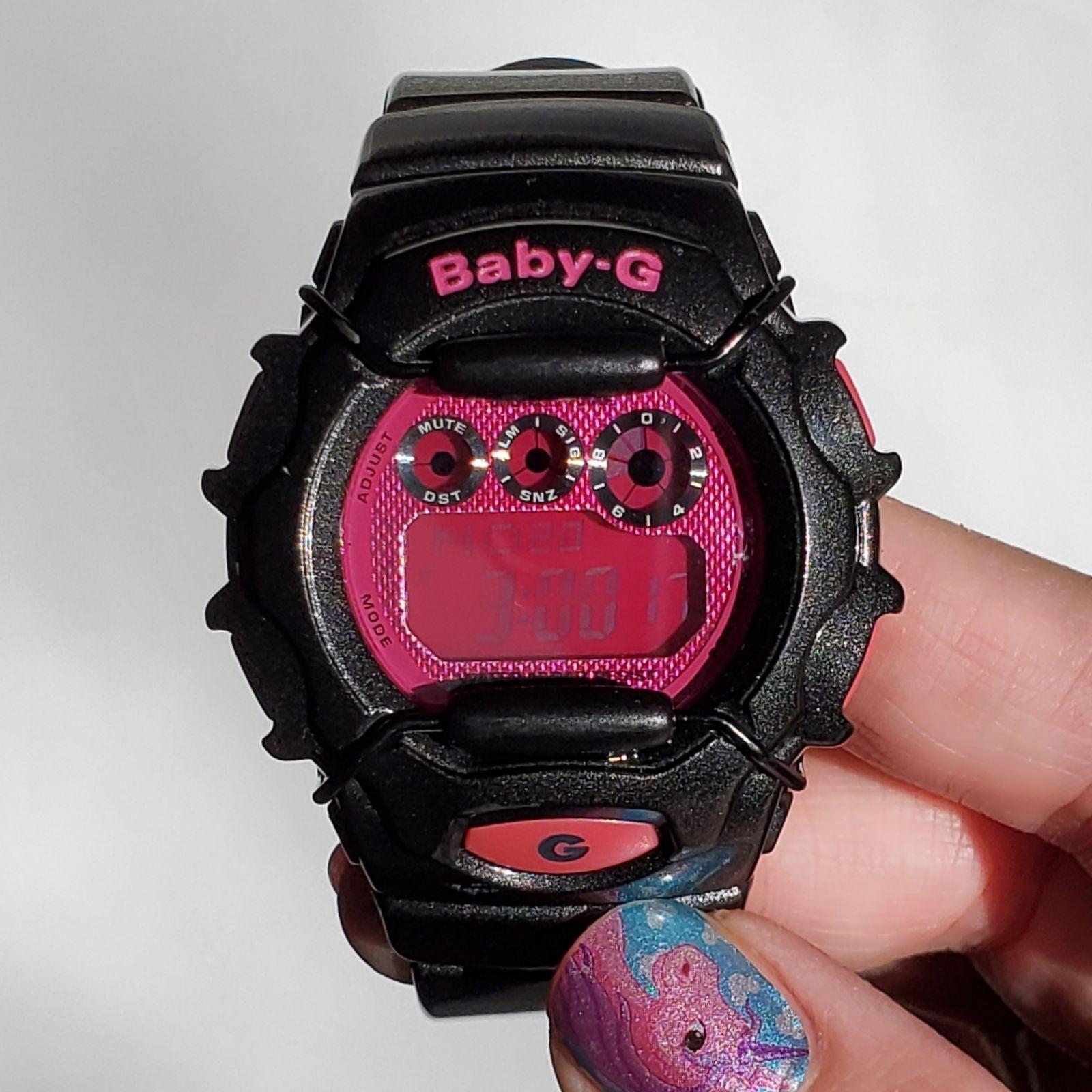 Casio Baby-G Watch BG1006SA-1 Black Pink