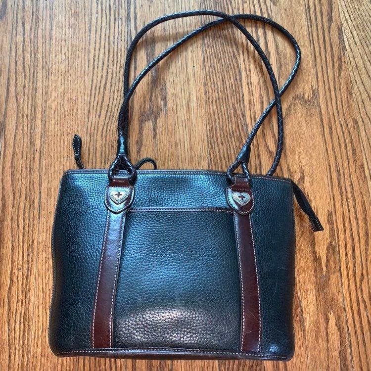 Brighton Pebbled Leather Bucket Bag