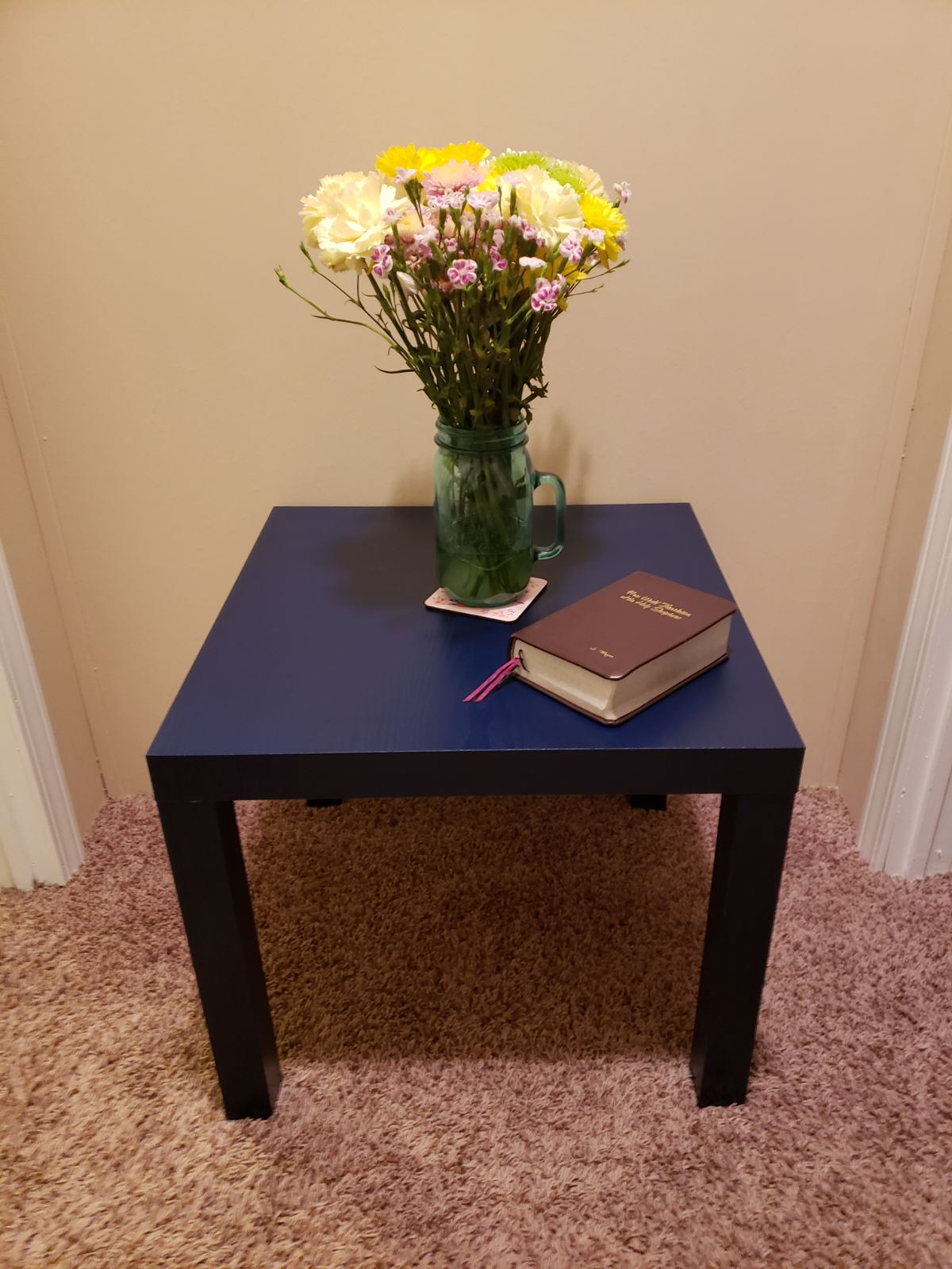 Dorel Home Blue Table