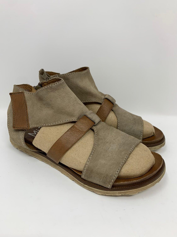 Miz Mooz NYC Leather Gladiator Sandals