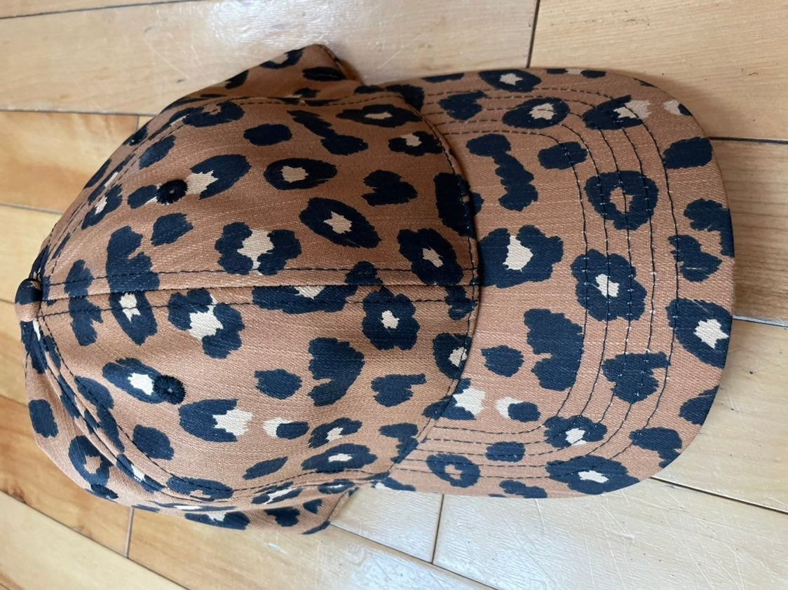 Leopard Cheetah Print Baseball Hat