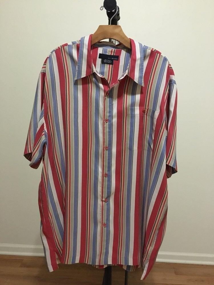 Bill Blass Multicolor Striped Shirt