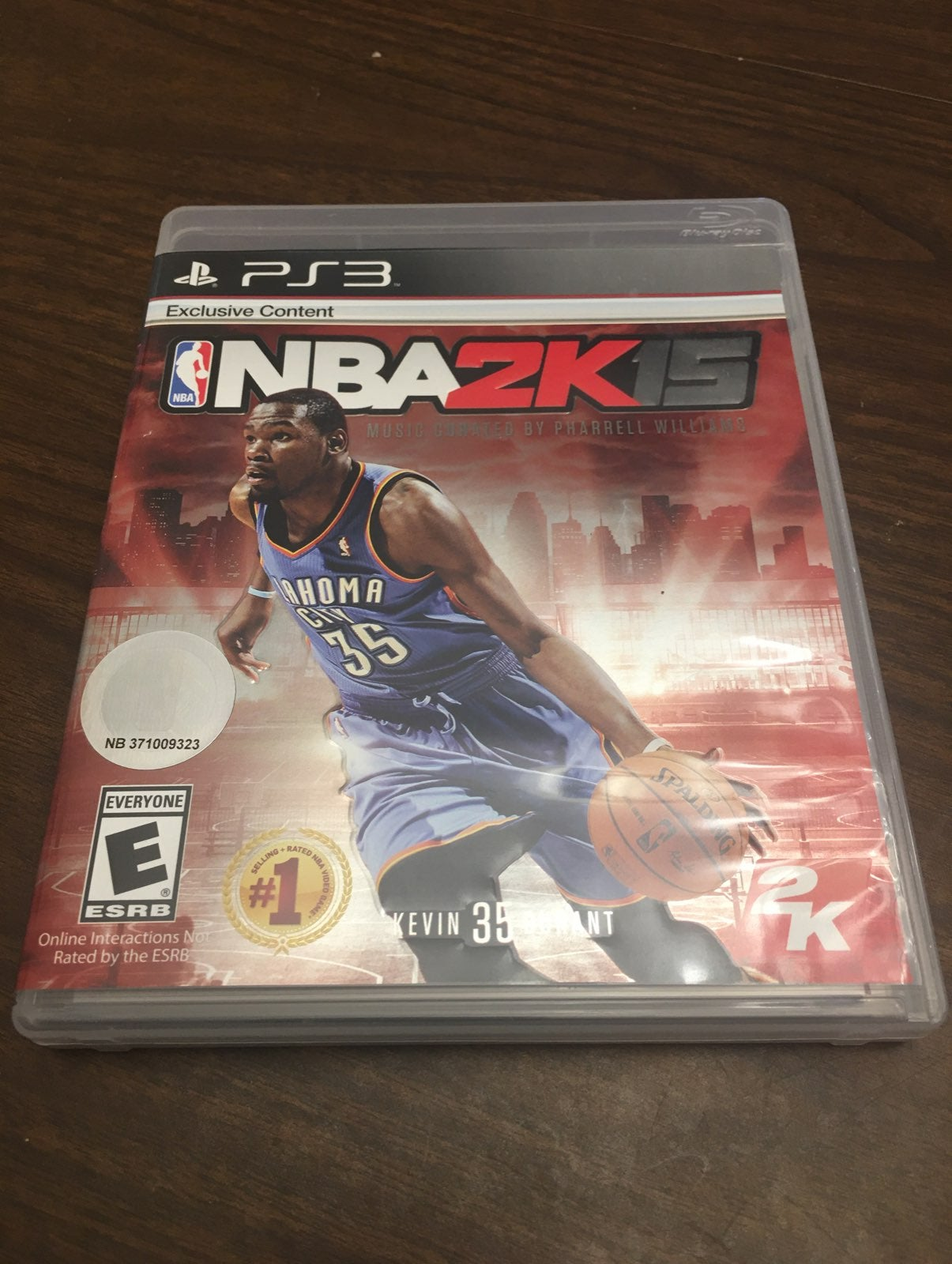 NBA 2K15 for Sony PS3 (used)