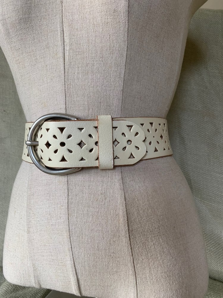 NWOT Candies Italian leather belt X-Sm