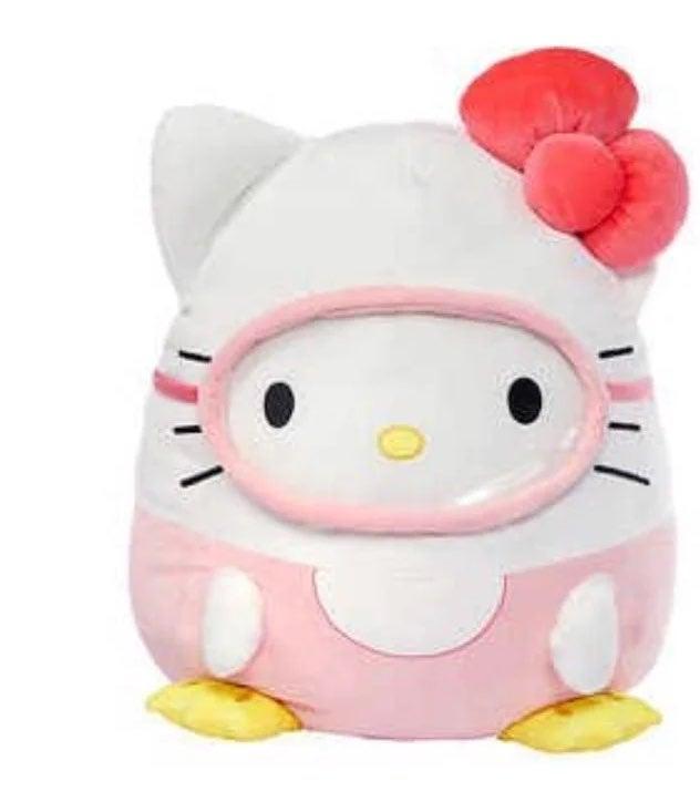 """New 20"""" Squishmallow Hello Kitty Scuba"""