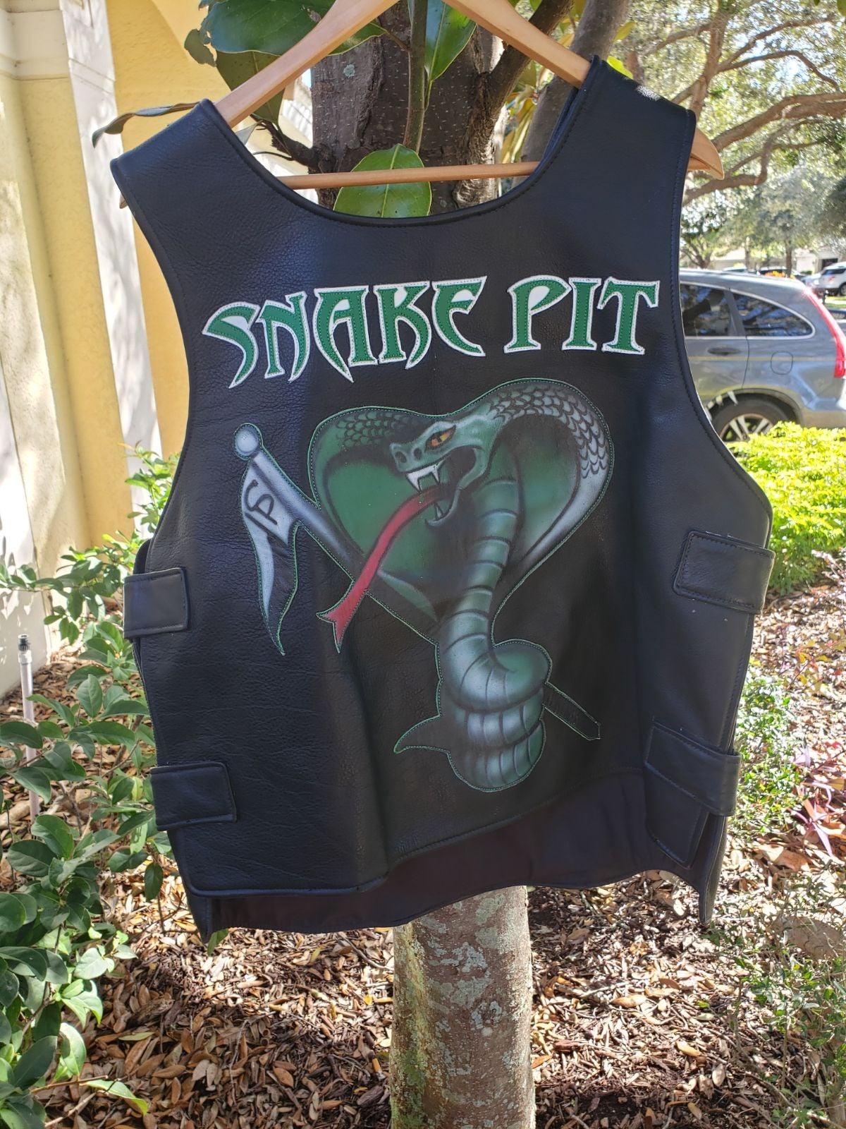 Snake pit biker vest