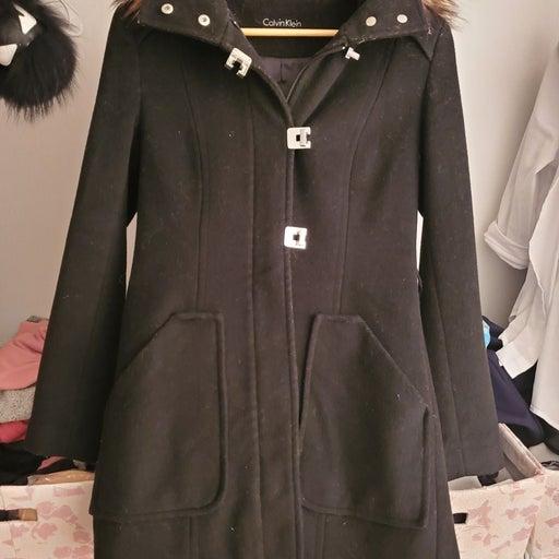 Calvin Klein zipper coats