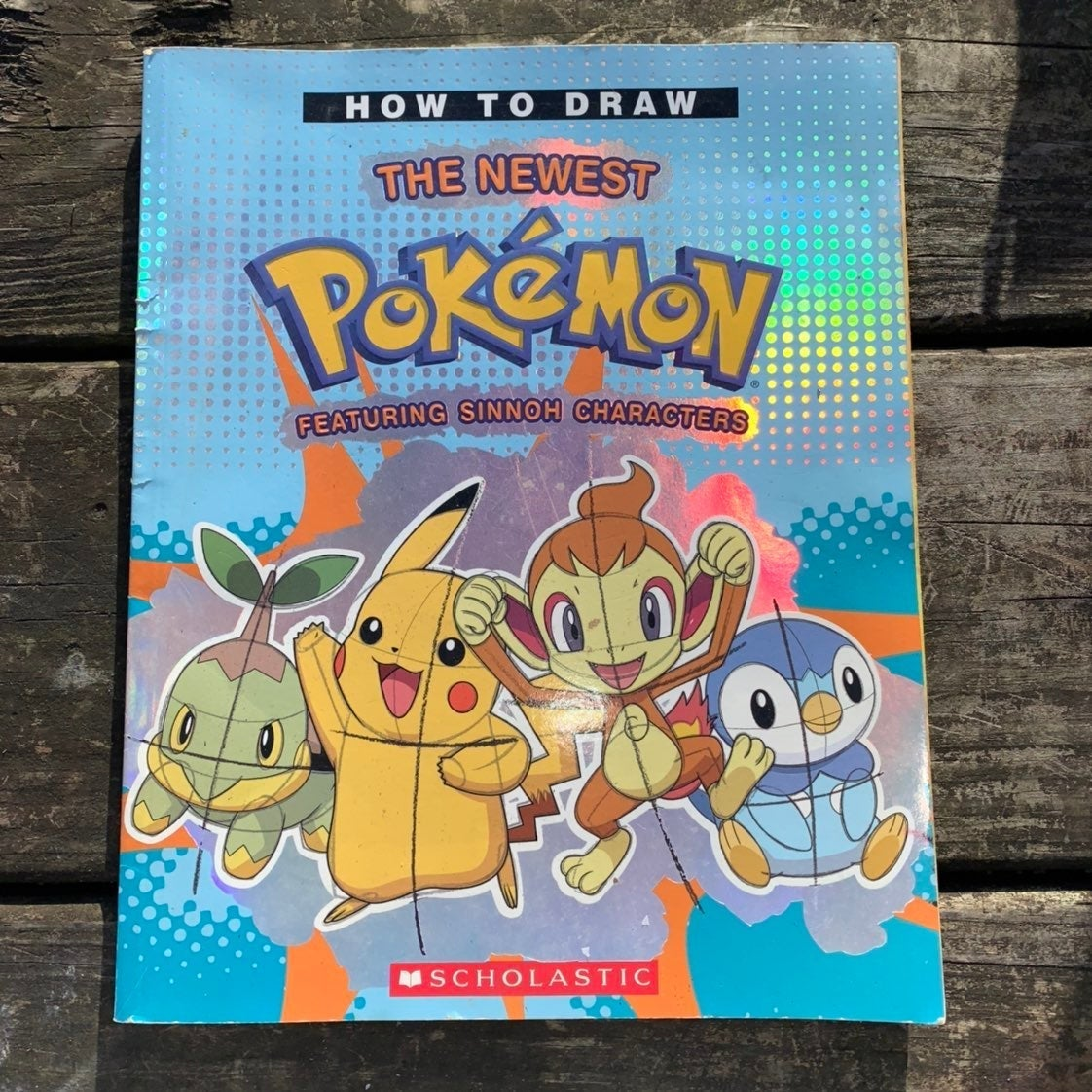 Pokémon Drawing book