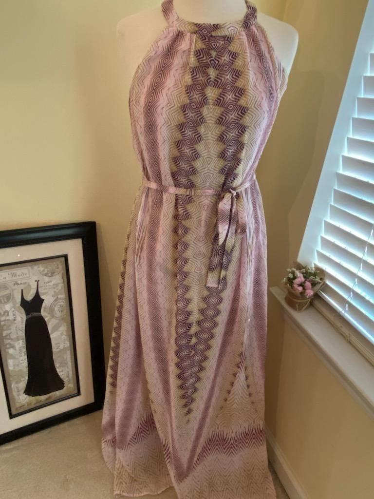 Maxi dress Bar III size Large