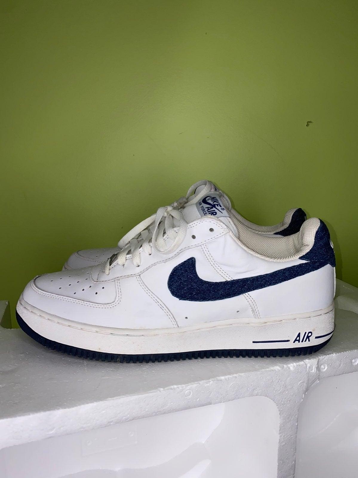 Nike Air Force 1 Denim Navy 2002