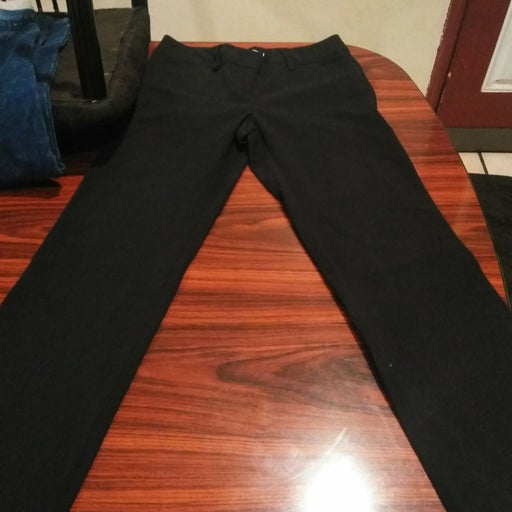 2 Black Crazy Horse Pants