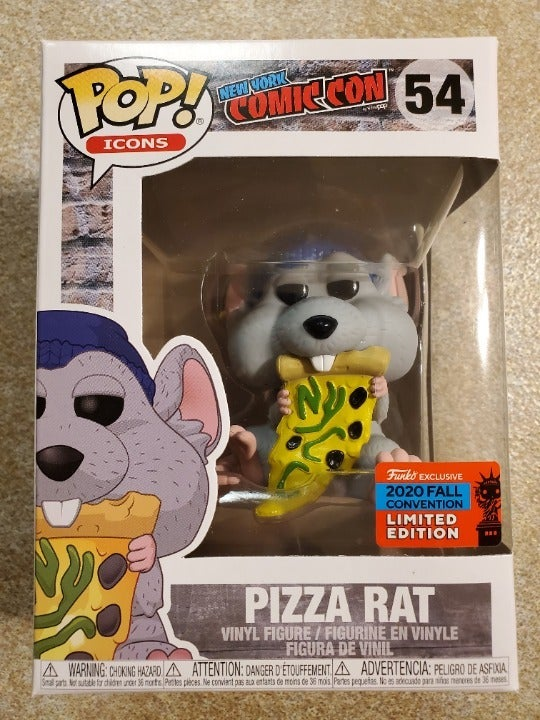 NYCC Pizza Rat Funko Pop