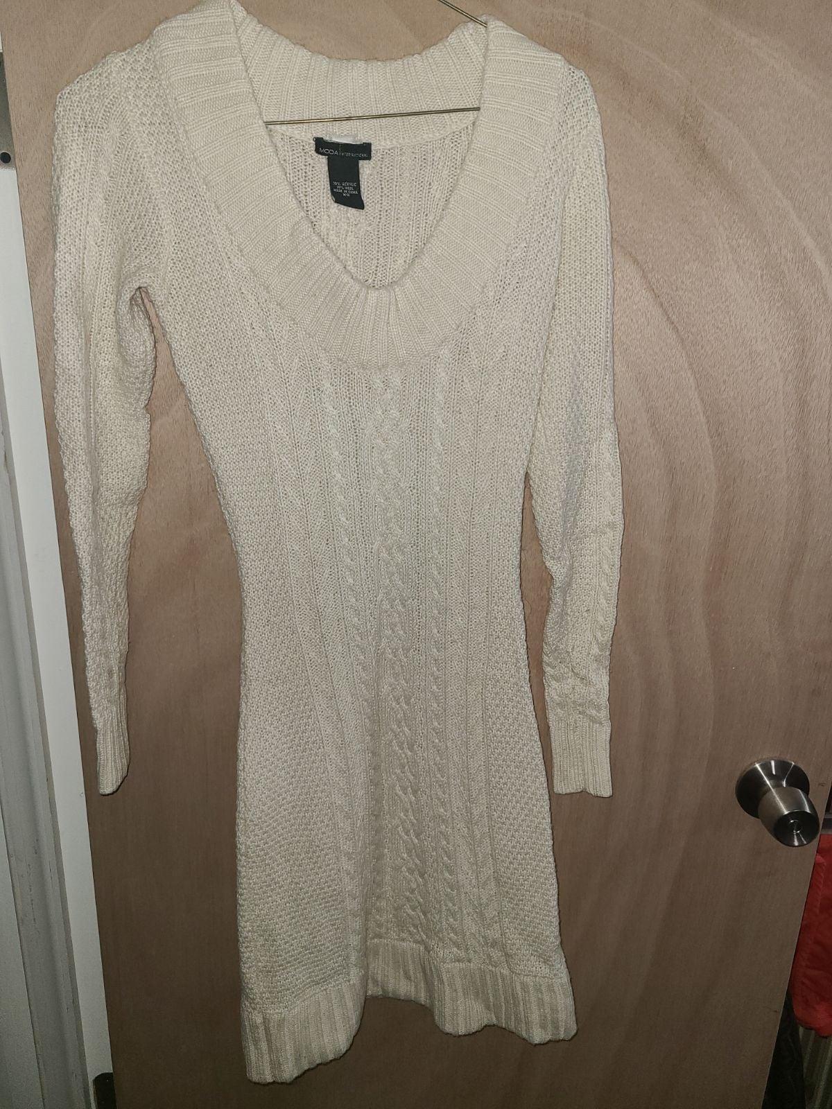 Moda International Sweater Dress