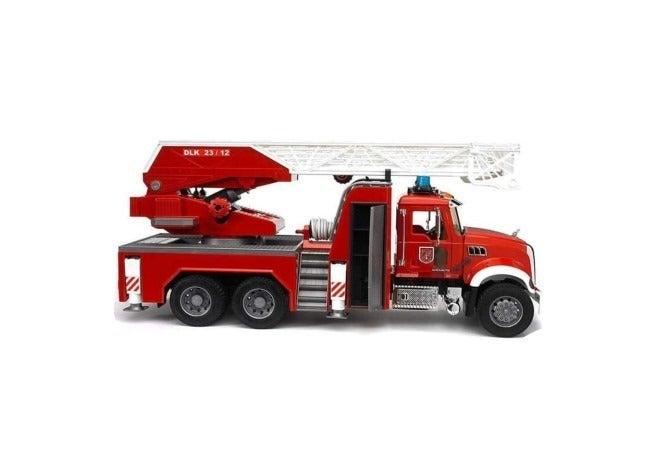Bruder 02821 Mack Granite Fire Truck