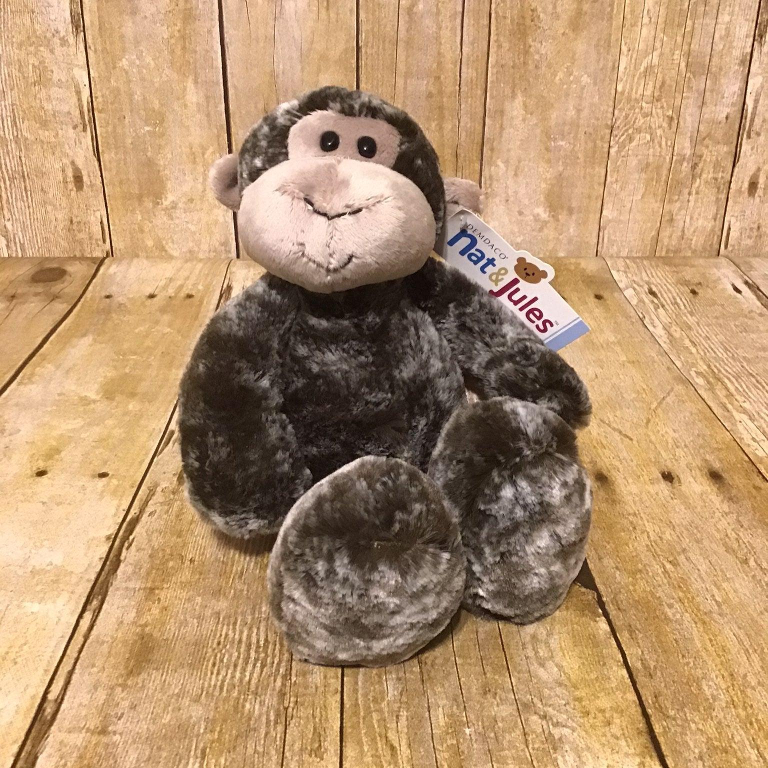Nat & Jules Soft Cuddlez Monkey DEMDACO