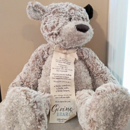 Demdaco Giving Bear Stuffy with tag